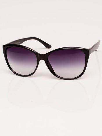 Klasyka Czarne Okulary Przeciwsłoneczne Kocie Oczy
