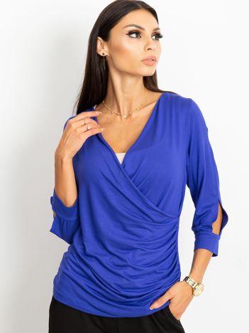 Kobaltowa bluzka Tess