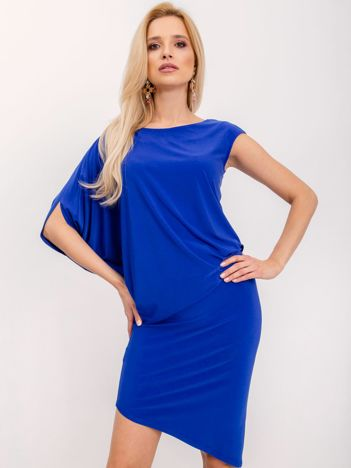 Kobaltowa sukienka Dollie
