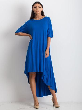 Kobaltowa sukienka Mountaineering