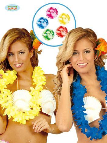 Kobaltowy naszyjnik hawajski na imprezy