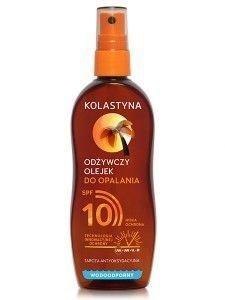 Kolastyna Opalanie Olejek do opalania SPF 10 odżywczy  150 ml