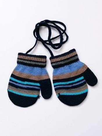 Kolorowe dziecięce rękawiczki z jednym palcem 10cm (1-3 lata)