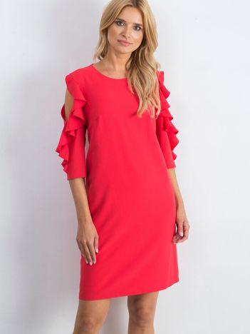 Koralowa sukienka Brilliance