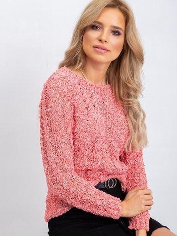 Koralowy sweter Jessica