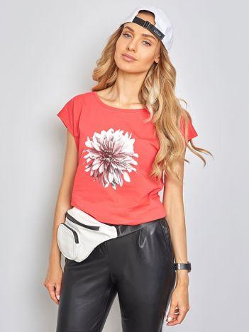 Koralowy t-shirt Jamaica