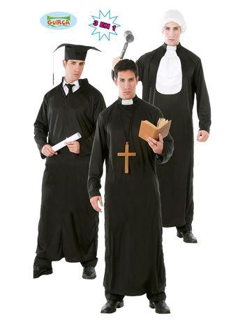 Kostium Sędzia Ksiądz Student