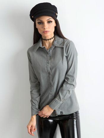 Koszula damska szara