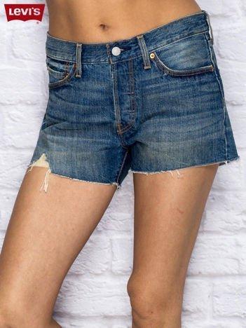 LEVIS Niebieskie jeansowe szorty