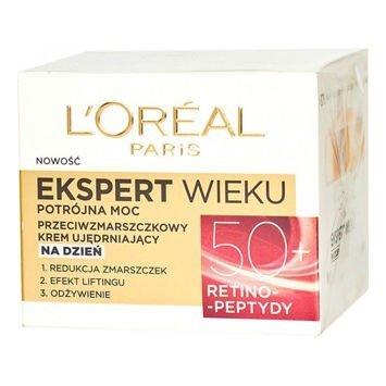 L'Oréal Age Specialist Ekspert Wieku 50+ przeciwzmarszczkowy krem ujędrniający na dzień 50 ml