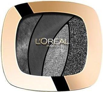 L'Oreal Color Riche Les Ombres Smoky poczwórne cienie S13 Magnetic Black 2,5 g