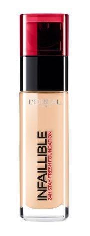 L'Oreal Infallible 24H Foundation długotrwały podkład do twarzy 140 Golden Beige 30 ml