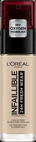 L'Oréal Infallible 24H Fresh Wear Foundation długotrwały podkład do twarzy 015 Porcelain 30ml