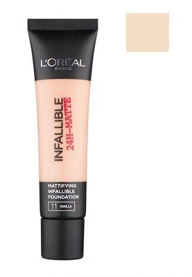 L'Oréal Paris Infallible 24H-Matte podkład matujący 11 Vanilla 35 ml