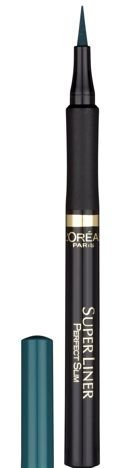L'Oreal Super Liner Perfect Slim eyeliner w pisaku GREEN