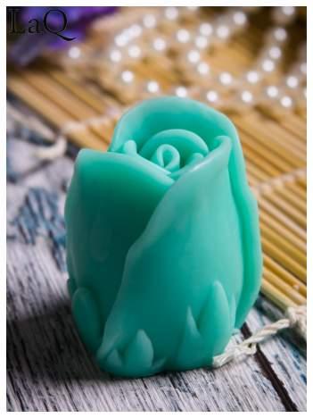 LaQ Mydełko Kwiat róży - zielony / Zapach - jabłko i orzech BEZ SLS i SLES
