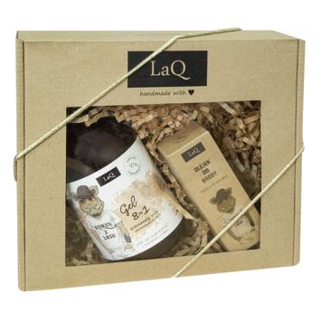 """LaQ Zestaw prezentowy dla mężczyzn Dzik (żel pod prysznic 500ml+olejek do brody 30ml) 1op."""""""