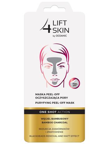 Lift 4 Skin One Shot Action Maska peel-off oczyszczająca pory 8 ml