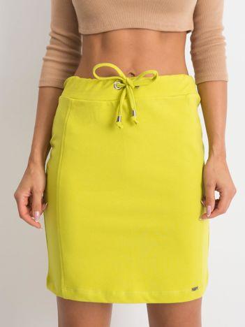 Limonkowa spódnica Increasingly