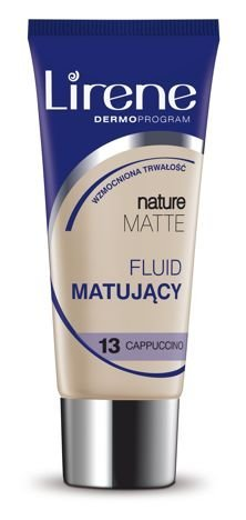Lirene Fluid Matujący Nature Matt- Capuccino ,  13 30 ml