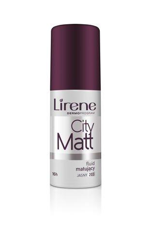 Lirene Fluid matująco-wygładzający City Matt - Jasny 203 30 ml
