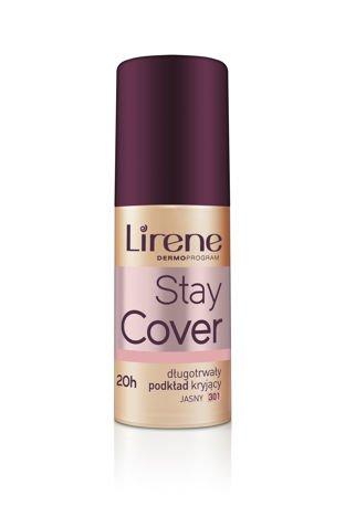 Lirene Stay cover Długotrwały podkład kryjący - jasny 301 30 ml