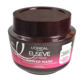"Loreal Elseve Full Resist Maska do włosów wzmacniająca Power Mask 300ml"""