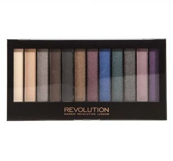 MAKEUP REVOLUTION Paleta 12 cieni Hot Smoked 14 g