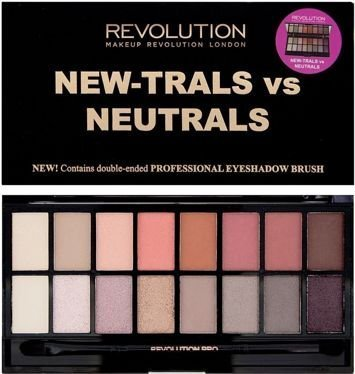 MAKEUP REVOLUTION Paleta 16 cieni New-Trals Vs Neutrals 16g