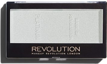 MAKEUP REVOLUTION Rozświetlacz Ingot Highlighter Platinum 12g