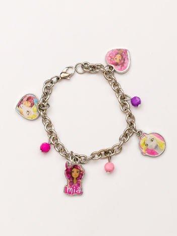 MIA I JA bransoletka dla dziewczynki z zawieszkami