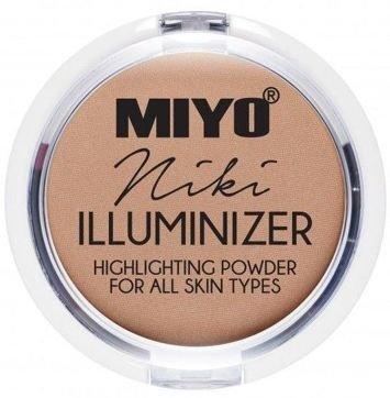 MIYO Illuminizer Puder rozświetlający 04 NIKI 9 g