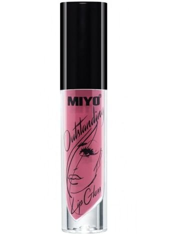 MIYO Outstanding Lip Gloss Błyszczyk Nude 23 LOTS OF LAUGHS 4 ml