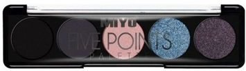 MIYO Paleta 5 cieni FIVE POINTS PALETTE no.13 go to hell 6,5 g