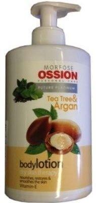 MORFOSE OSSION Profesjonalny KREM DO CIAŁA I RĄK argan i drzewo herbaciane 500 ml