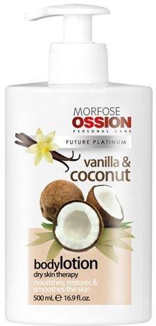 MORFOSE OSSION Profesjonalny KREM DO CIAŁĄ I RĄK wanilia i kokos 500 ml