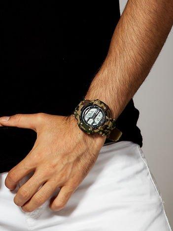 MORO Męski Sportowy Zegarek BEIGE