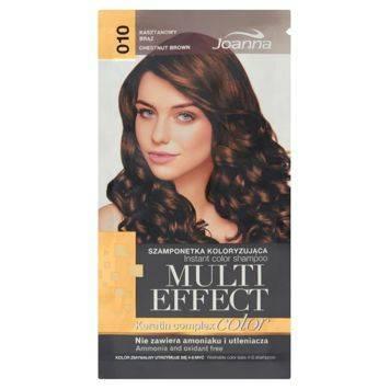 MULTI EFFECT color Keratin complex Szamponetka koloryzująca Kasztanowy brąz  /010/