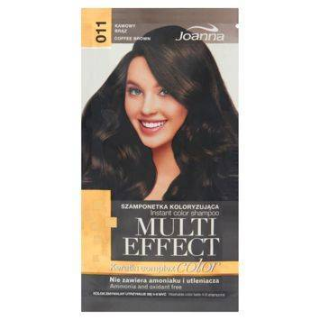 MULTI EFFECT color Keratin complex Szamponetka koloryzująca Kawowy brąz  /011/