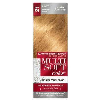 MULTI SOFT COLOR Szampon koloryzujący 21 Karmelowy blond