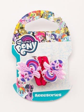MY LITTLE PONY Zestaw 2 szt. różowych klamerek do włosów dla dziewczynki