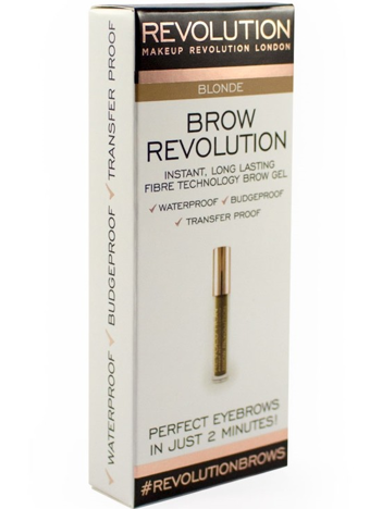 Makeup Revolution Brow Revolution Żel do brwi Blonde 3.8g