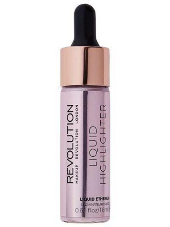 Makeup Revolution Liquid Highlighter Rozświetlacz w płynie Ethereal 18 ml