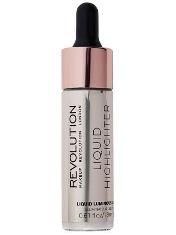 Makeup Revolution Liquid Highlighter Rozświetlacz w płynie Luminous Luna 18 ml
