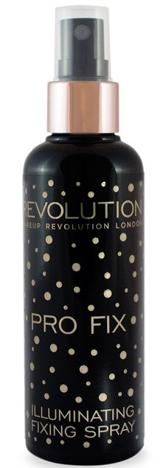 Makeup Revolution Pro Fix Illuminating Spray Rozświetlający utrwalacz makijażu w sprayu 100 ml