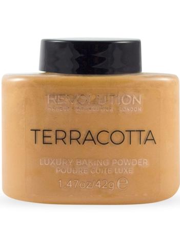 Makeup Revolution Puder sypki Terracotta Baking Powder 32 g