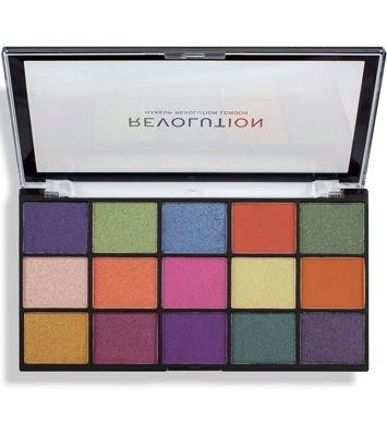 Makeup Revolution Re-Loaded Paleta cieni do powiek Passion for Colour 16,5 g