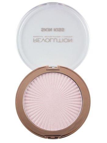 Makeup Revolution Skin Kiss Rozświetlacz Pink Kiss 14 g