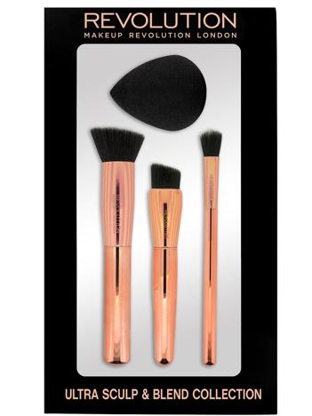 Makeup Revolution Ultra Sculpt & Blend Collection Zestaw akcesoriów do makijażu