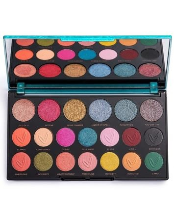 Makeup Revolution X Carmi Make Magic Paleta Cieni do Powiek 6 x 1.3g + 14 x 0.65g